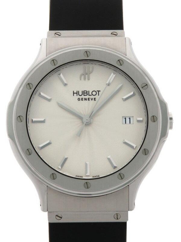 【HUBLOT】【電池交換済】ウブロ『クラシック』1525.AF10.1 メンズ クォーツ 3ヶ月保証【中古】