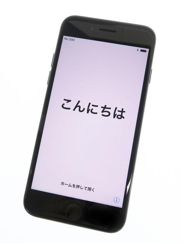 【Apple】アップル『iPhone 7 128GB SIMフリー』MNCP2J/A ジェットブラック iOS11.2.1 4.7型 白ロム ○判定 スマートフォン【中古】