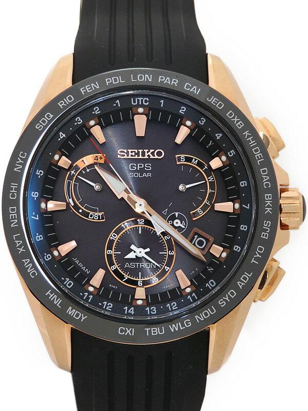 【SEIKO】【'17年購入】セイコー『アストロン』SBXB055 71****番 メンズ ソーラーGPS 3ヶ月保証【中古】
