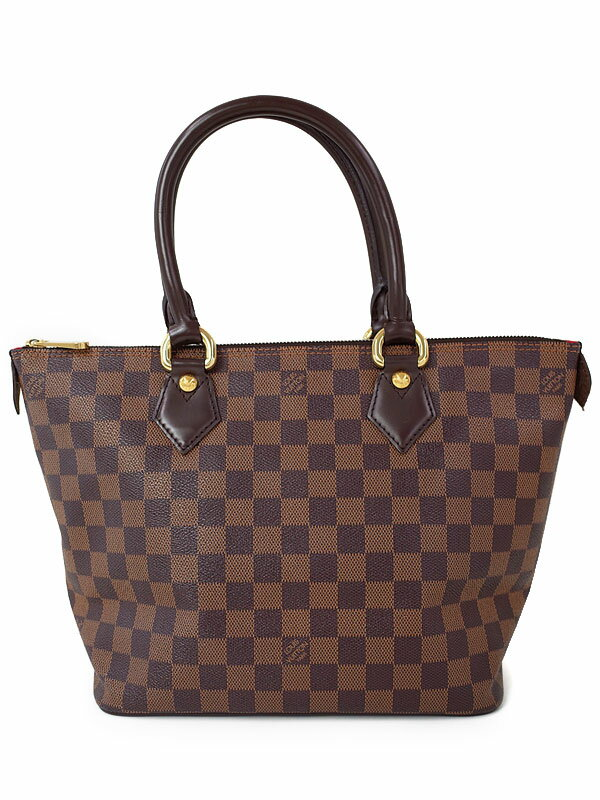 【LOUIS VUITTON】ルイヴィトン『ダミエ サレヤPM』N51183 レディース トートバッグ 1週間保証【中古】