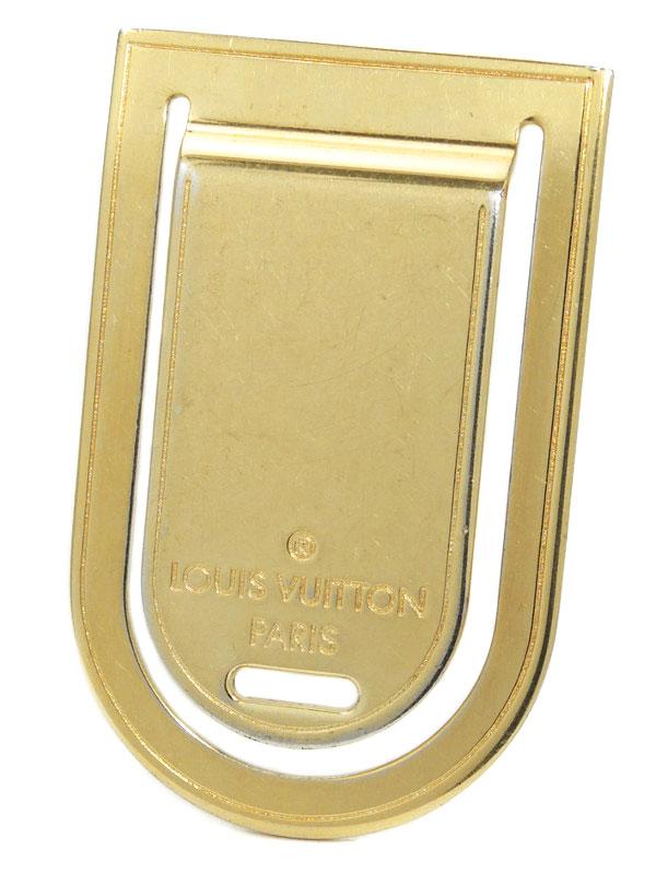 【Louis Vuitton】ルイヴィトン『パンス・ア・ビエ・ポルト アドレス』M64690 マネークリップ 1週間保証【中古】
