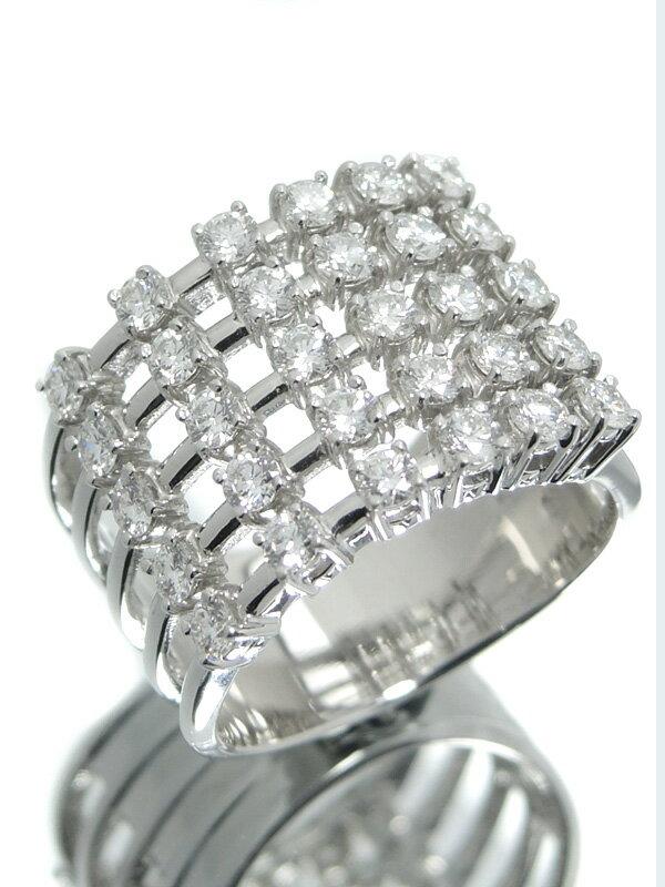 【TASAKI】【仕上済】タサキ『K18WGリング ダイヤモンド1.32ct』12.5号 1週間保証【中古】