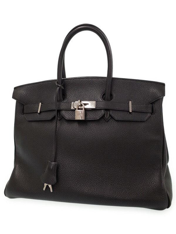 【HERMES】【シルバー金具】エルメス『バーキン 35』G刻印 2003年製 レディース ハンドバッグ 1週間保証【中古】
