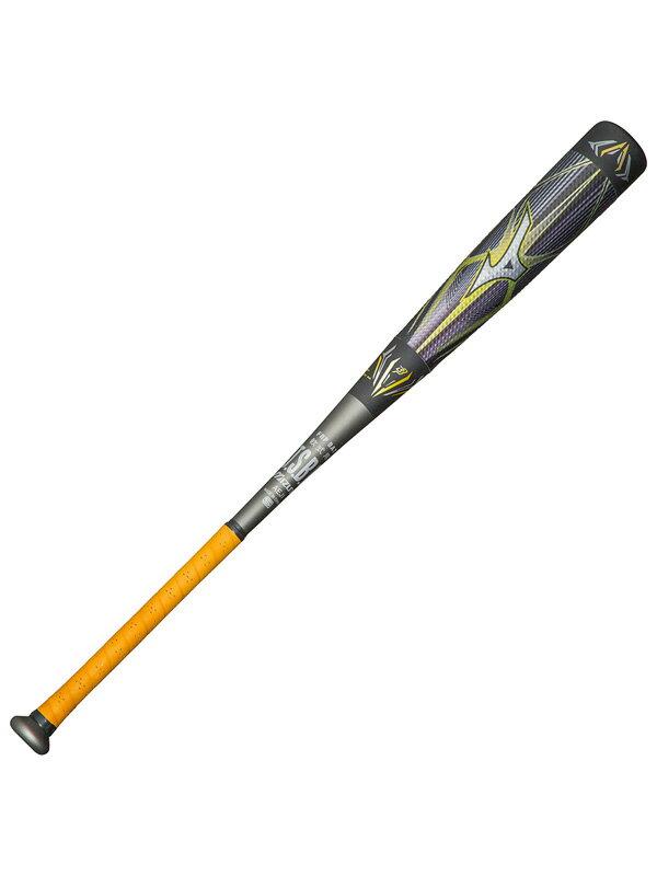 【MIZUNO】ミズノ『ビヨンドマックス メガキングII限定モデル』1CJBR12184 0905 ブラック×ダークシルバー FRP製 軟式野球用 バット 1週間保証【中古】