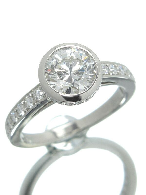【Cartier】【メーカー仕上済】カルティエ『ソリテール ハネムーン リング ダイヤモンド1.10ct』8号 1週間保証【中古】
