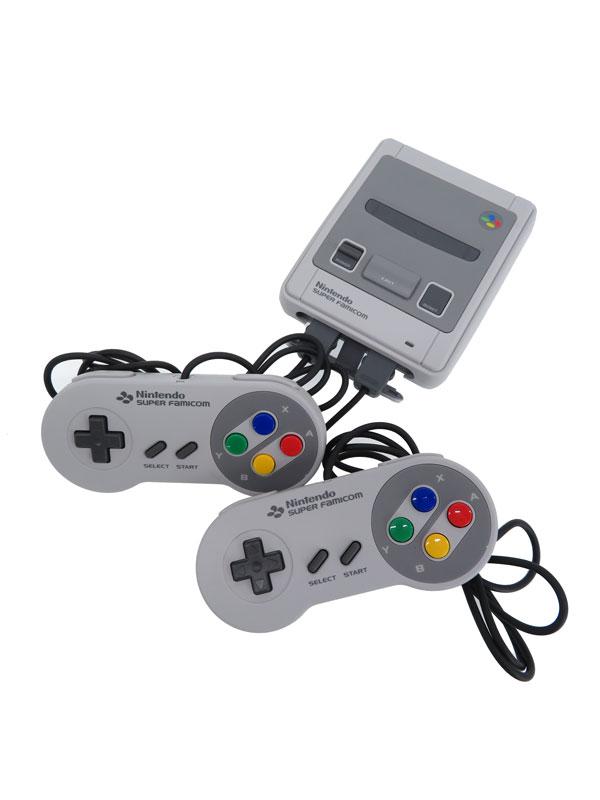 【任天堂】【Nintendo】ニンテンドー『ニンテンドークラシックミニ スーパーファミコン』CLV-301 21タイトル収録 ゲーム機本体 1週間保証【中古】