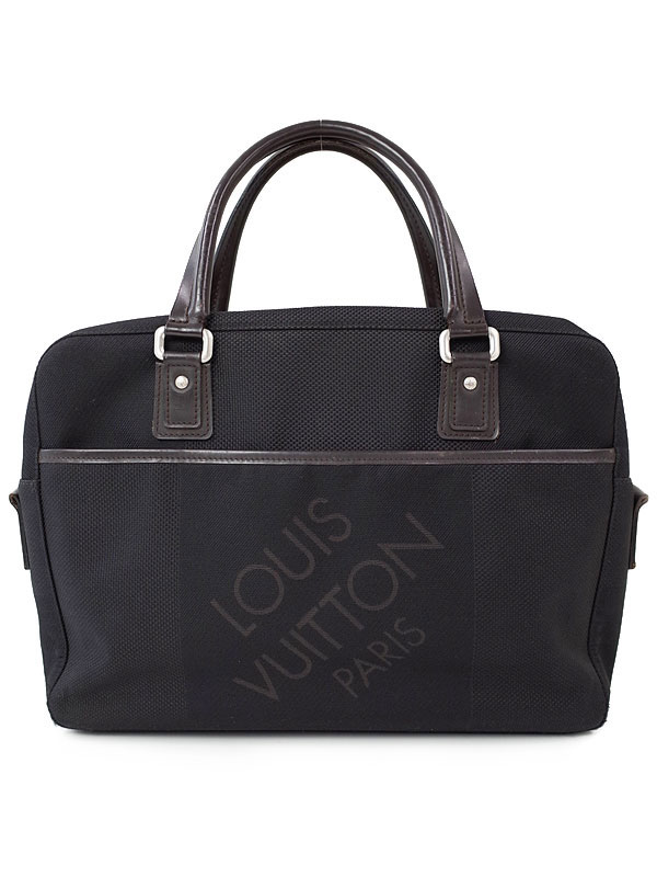 【LOUIS VUITTON】ルイヴィトン『ダミエ ジェアン ヤック』M93082 メンズ ビジネスバッグ 1週間保証【中古】