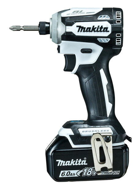 makita マキタ『充電式インパクトドライバ』TD171DRGXW白18V6.0Ah×2インパクトドライバー1週間保証 新品
