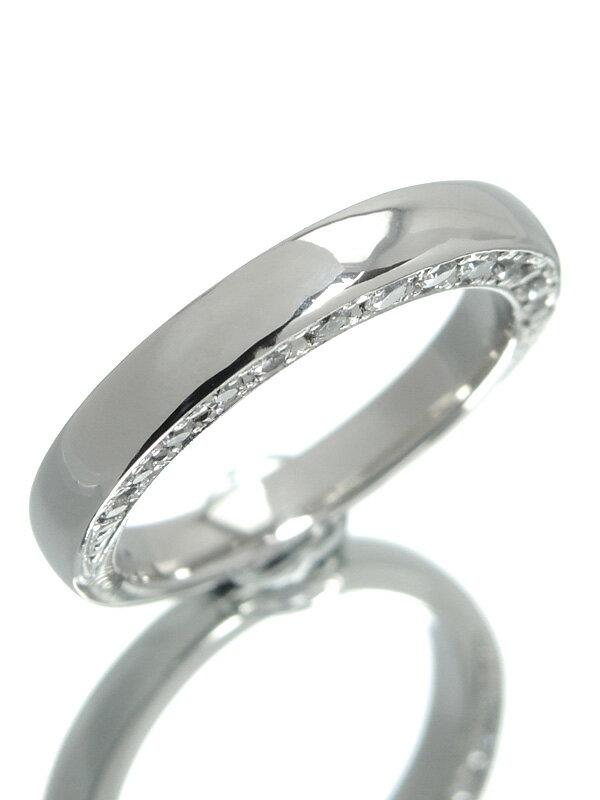 【Ponte Vecchio】【仕上済】ポンテヴェキオ『PT900リング ダイヤモンド0.38ct』8.5号 1週間保証【中古】