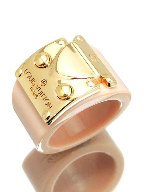 【Louis Vuitton】【箱付】ルイヴィトン『バーグ ロックミー リング』12.5号 M66845 1週間保証【中古】