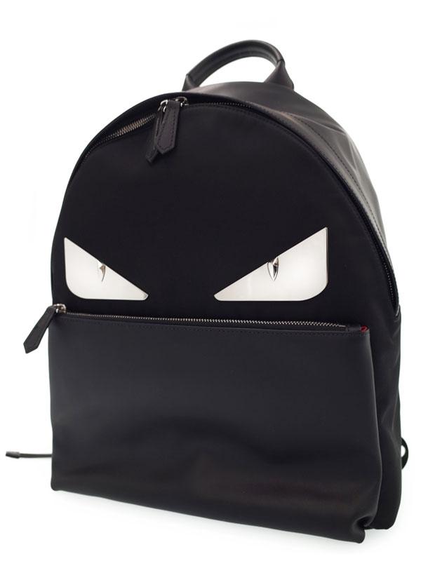 【FENDI】【BAG BAGS】フェンディ『バッグバグズ リュックサック』7VZ012 メンズ バッグパック 1週間保証【中古】