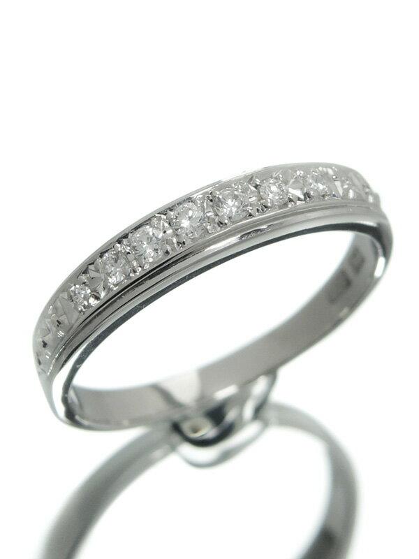 【仕上済】セレクトジュエリー『PT900リング ダイヤモンド』12号 1週間保証【中古】