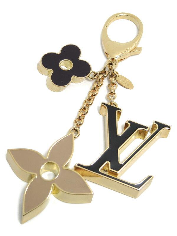 【Louis Vuitton】【キーホルダー】ルイヴィトン『バッグチャーム・フルールドゥ モノグラム』M67119 1週間保証【中古】