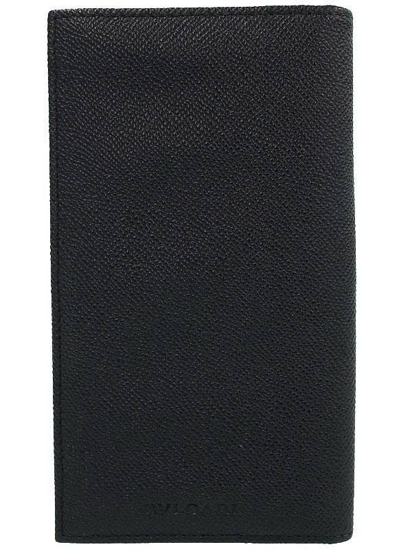 【BVLGARI】ブルガリ『クラシコ 二つ折り長財布』25752 メンズ 1週間保証【中古】