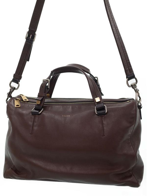 【CELINE】セリーヌ『ストラップボストン』165963 レディース 2WAYバッグ 1週間保証【中古】