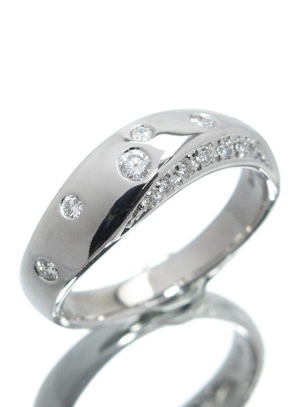 【TASAKI】【仕上済】タサキ『K18WGリング ダイヤモンド0.20ct』10.5号 1週間保証【中古】