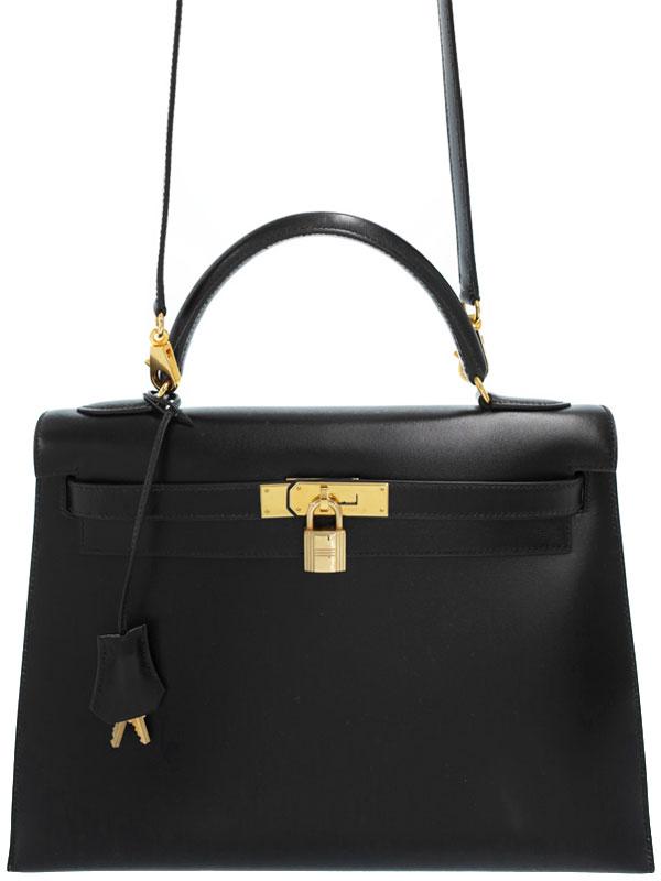【HERMES】【ゴールド金具】エルメス『ケリー32 外縫い』C刻印 1999年製 レディース 2WAYバッグ 1週間保証【中古】