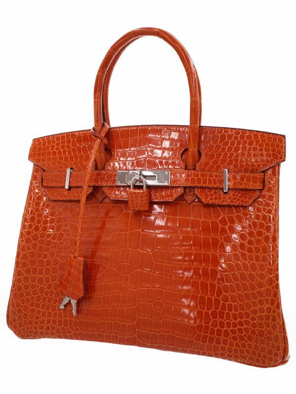 【HERMES】【シルバー金具】エルメス『バーキン30』H刻印 2004年製 レディース ハンドバッグ 1週間保証【中古】
