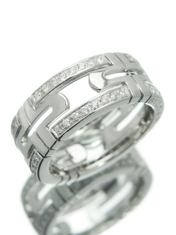 【BVLGARI】ブルガリ『パレンテシ リング ダイヤモンド』11号 1週間保証【中古】