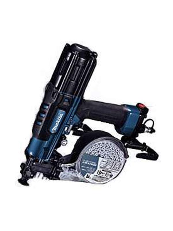 【makita】マキタ『41mm高圧エアビス打ち機』AR411HRM 青 内装石こうボード用 100本装てん ねじ打ち機【新品】