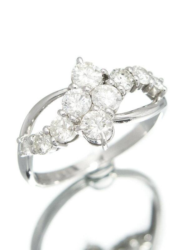 セレクトジュエリー『PT900リング ダイヤモンド1.00ct』12号 1週間保証【中古】