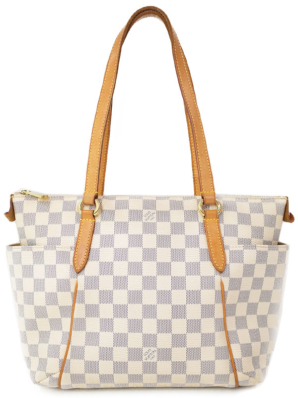 【LOUIS VUITTON】ルイヴィトン『ダミエ アズール トータリーPM』N51261 レディース トートバッグ 1週間保証【中古】