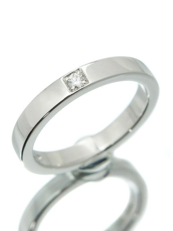 【BVLGARI】【MARRYME】【仕上済】ブルガリ『マリーミー リング 1Pダイヤモンド』11号 1週間保証【中古】