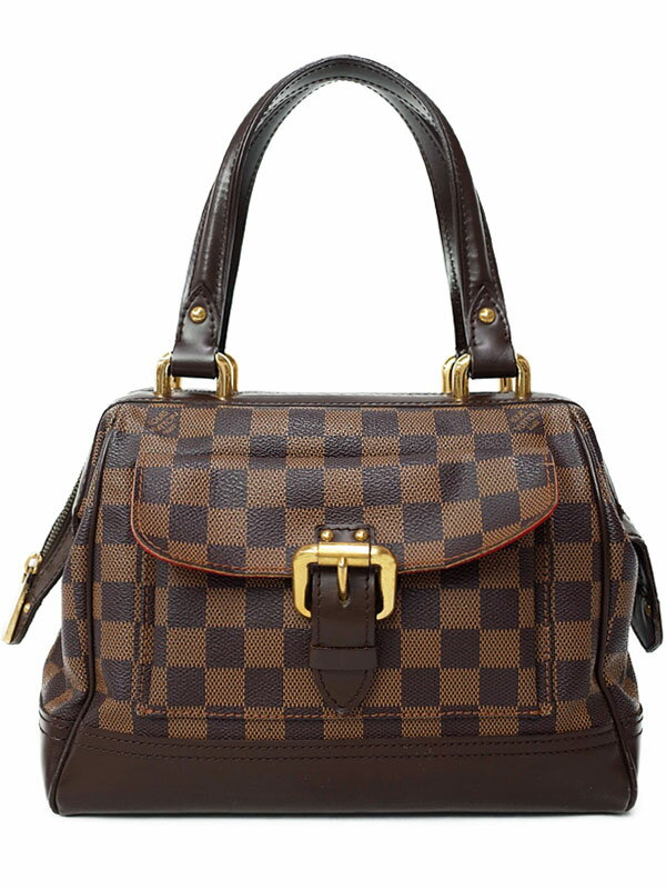 【LOUIS VUITTON】ルイヴィトン『ダミエ ナイツブリッジ』N51201 レディース ハンドバッグ 1週間保証【中古】