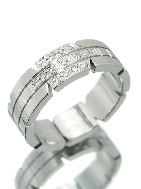 【Cartier】【仕上済】カルティエ『タンクフランセーズ リング ダイヤモンド』11号 1週間保証【中古】
