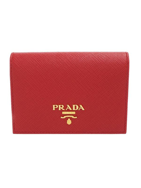【PRADA】プラダ『カードケース』1MC945 レディース 1週間保証【中古】