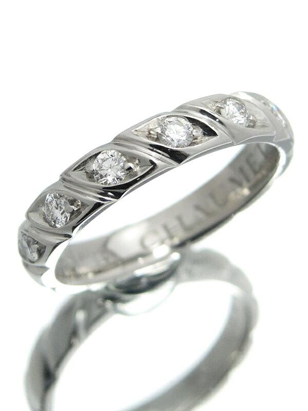 【CHAUMET】【仕上済】ショーメ『トルサード マリッジリング 7Pダイヤモンド』11.5号 1週間保証【中古】