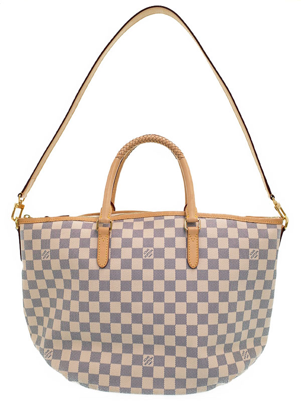 【LOUIS VUITTON】ルイヴィトン『ダミエ アズール リヴィエラMM』N48252 レディース 2WAYバッグ 1週間保証【中古】