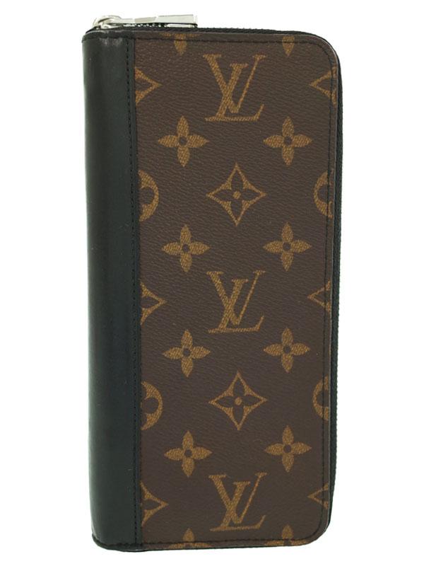 7df29825bcc8 【LOUIS VUITTON】ルイヴィトン『モノグラム マカサー ジッピーウォレット ヴェルティカル』M60109 メンズ