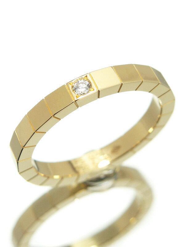 【Cartier】【仕上済】カルティエ『ラニエール リング 1Pダイヤモンド』18.5号 1週間保証【中古】