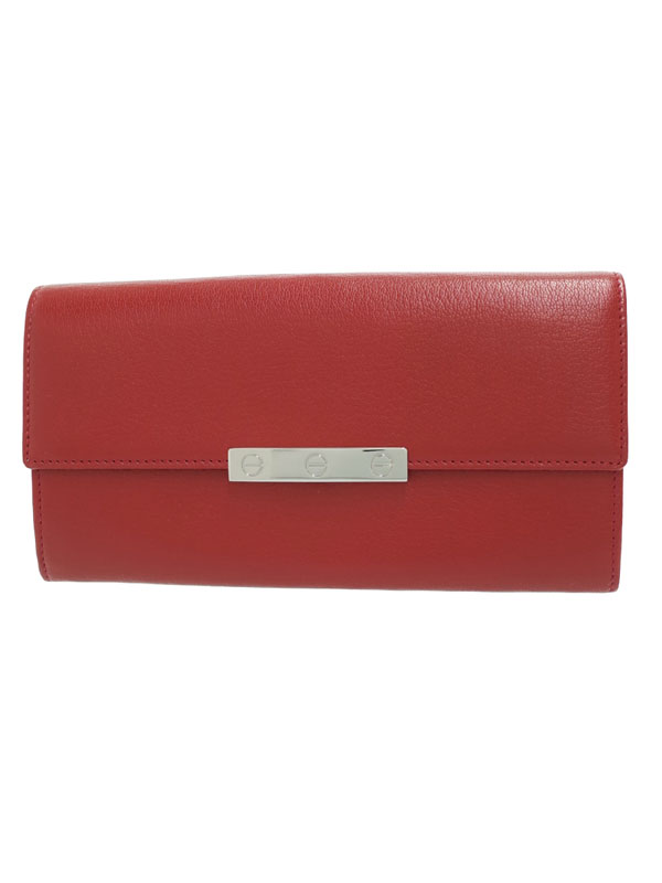 【Cartier】カルティエ『ラブ 二つ折り長財布』L3001377 レディース 1週間保証【中古】