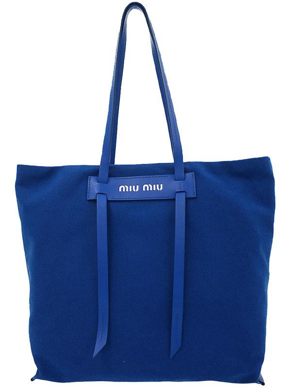 【miu miu】ミュウミュウ『トートバッグ』5BG116 レディース 1週間保証【中古】