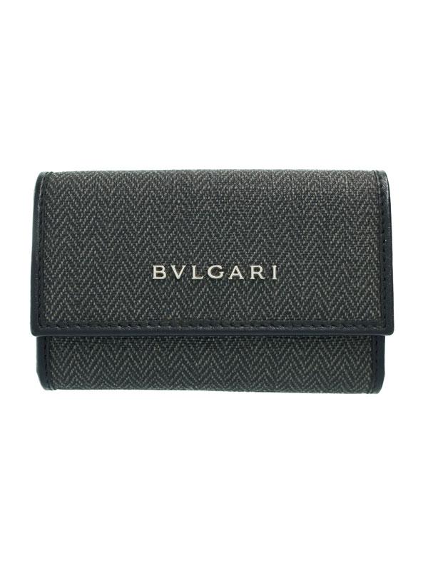 【BVLGARI】ブルガリ『ウィークエンド 6連キーケース』32583 メンズ 1週間保証【中古】
