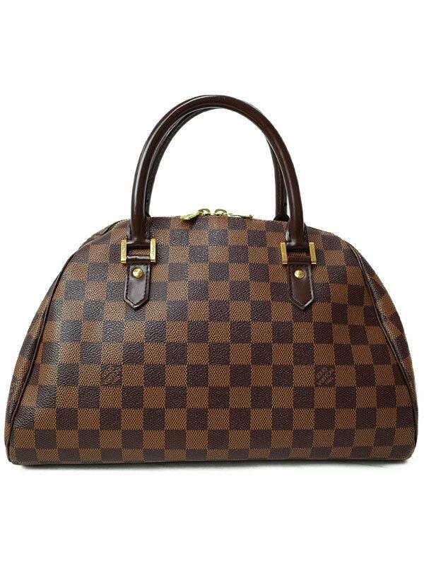 【LOUIS VUITTON】ルイヴィトン『ダミエ リベラMM』N41434 レディース ハンドバッグ 1週間保証【中古】