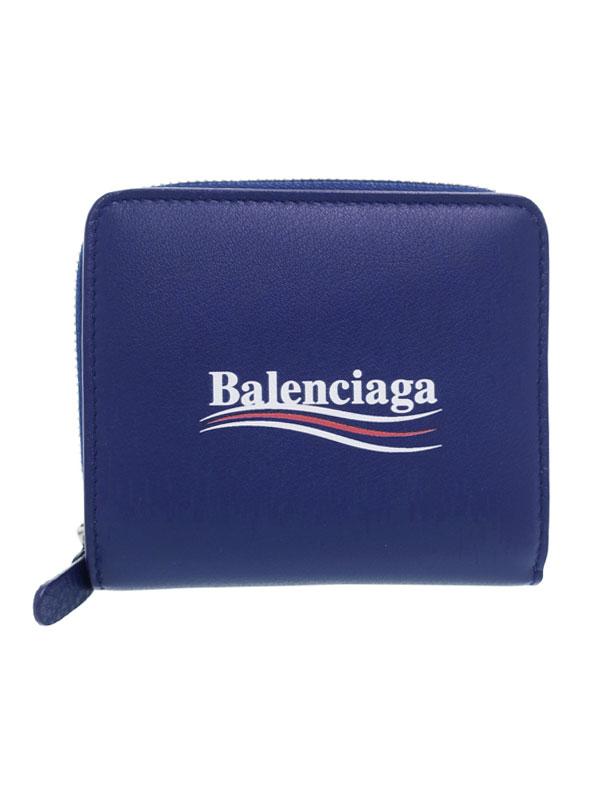 【BALENCIAGA】バレンシアガ『エブリデイ 二つ折り短財布』516366 レディース 1週間保証【中古】