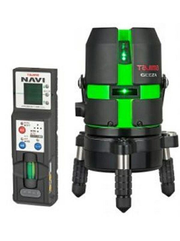 【TAJIMA】タジマ『レーザー墨出し器』GZAN-KYR レーザー墨出器 NAVI機能 鮮視度9倍 リモコン回転機能 1週間保証【新品】
