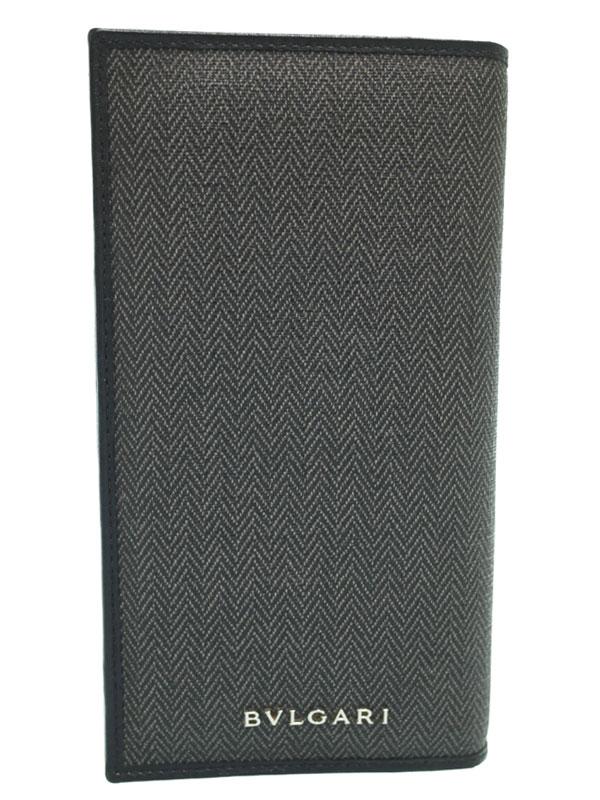【BVLGARI】ブルガリ『ウィークエンド 二つ折り長財布』32582 メンズ 1週間保証【中古】