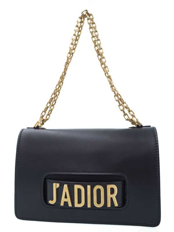 【Christian Dior】クリスチャンディオール『J'ADIOR チェーンフラップバッグ』M9000CVQV_M900 レディース ショルダーバッグ 1週間保証【中古】