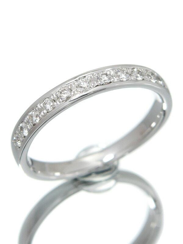 【WISP】【仕上済】ウィスプ『K18WGリング ダイヤモンド0.20ct』13号 1週間保証【中古】