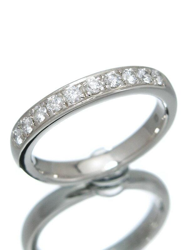 【Ponte Vecchio】【仕上済】ポンテヴェキオ『PT900リング 10Pダイヤモンド0.25ct』7号 1週間保証【中古】