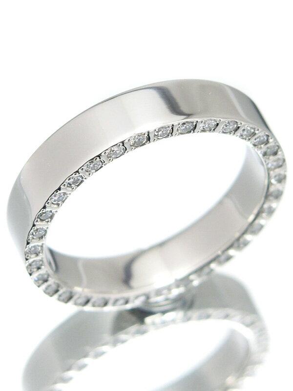 【regalo】【サイドダイヤ】【仕上済】レガロ『PT950リング ダイヤモンド0.215ct』11号 1週間保証【中古】