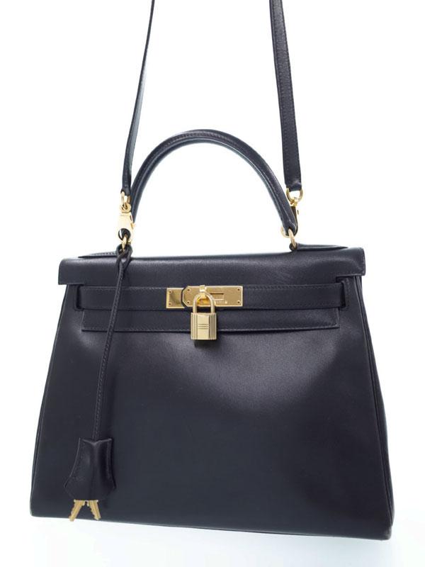 【HERMES】【ゴールド金具】エルメス『ケリー28 内縫い』Y刻印 1995年製 レディース 2WAYバッグ 1週間保証【中古】