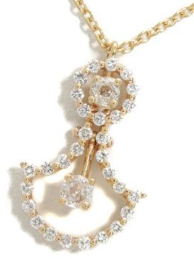 【DAMIANI】【JULIETTE】【仕上済】ダミアーニ『ジュリエット ダイヤモンド ネックレス』1週間保証【中古】b03j/h15SA