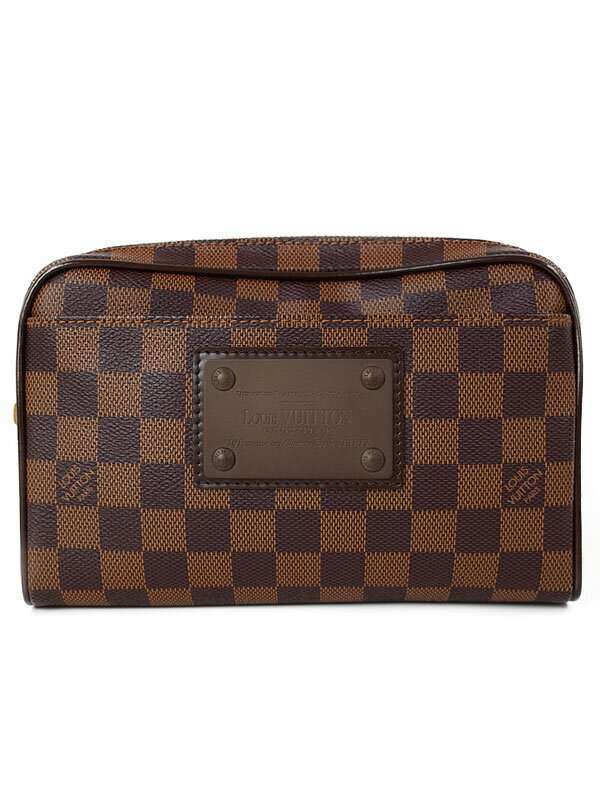 【LOUIS VUITTON】ルイヴィトン『ダミエ バム バッグ ブルックリン』N41101 メンズ ボディバッグ 1週間保証【中古】