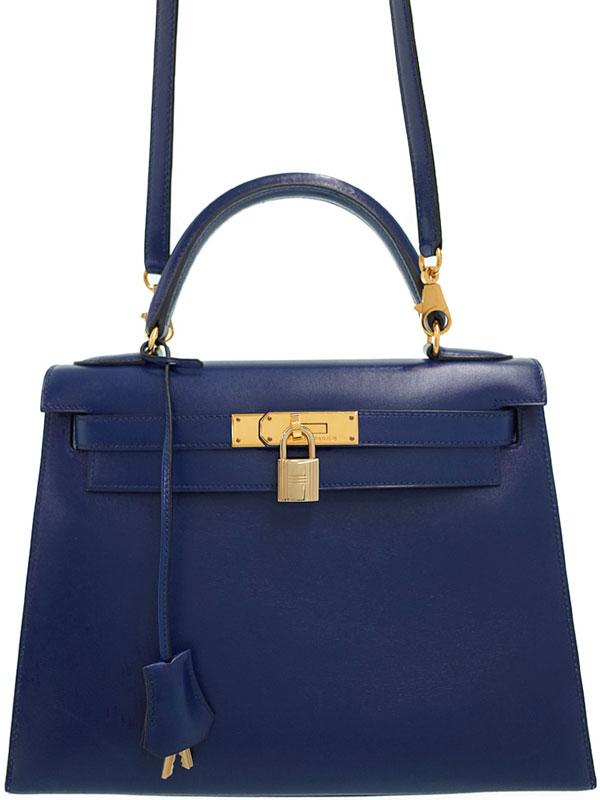 【HERMES】【ゴールド金具】エルメス『ケリー28 外縫い』B刻印 1998年製 レディース 2WAYバッグ 1週間保証【中古】