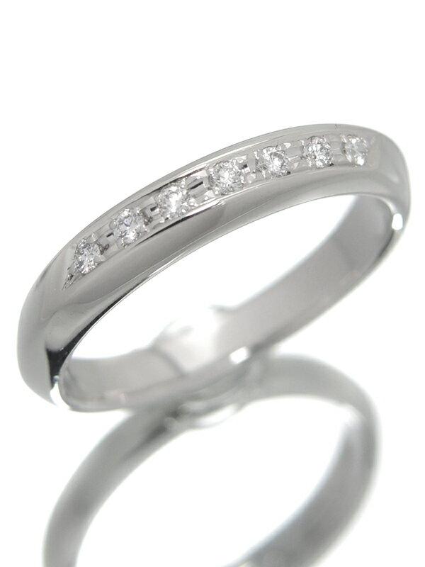 【TASAKI】タサキ『PT900リング ダイヤモンド0.06ct』10号 1週間保証【中古】